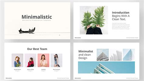 bold aesthetic  powerpoint template