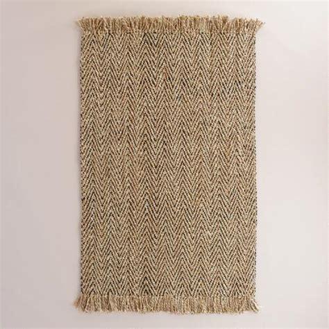 world market jute rug charcoal herringbone woven jute area rug world market