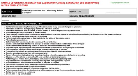 best photos of vet aid for a resume veterinarian resume