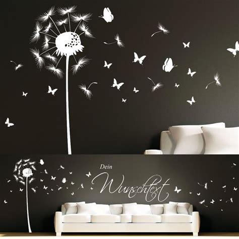 Wandtattoo Kinderzimmer Pusteblume by Wandtattoo Wandaufkleber Pusteblume Schmetterling Paula