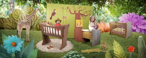 chambre bébé jungle deco chambre bebe garcon jungle