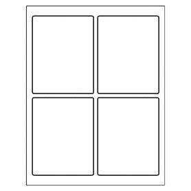 avery labels 4 per page portrait template With avery label 5160 equivalent
