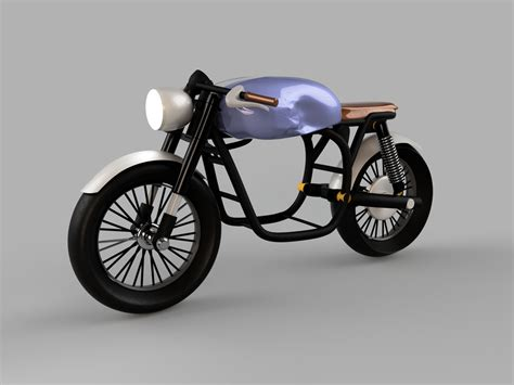 Bmw Electric Motorcycle by Bmw R65 Cafe Racer Electric Motorcycle Version Autodesk