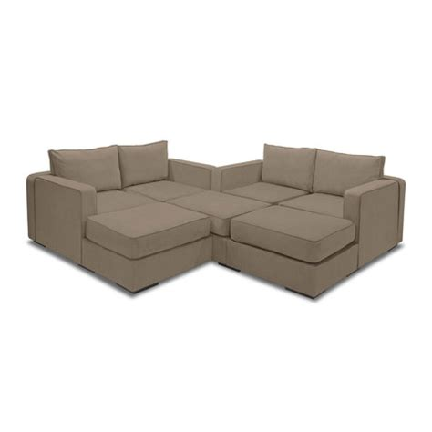 Lovesac Chairs by 5 Series Sactionals M Lounger Taupe Lovesac Touch