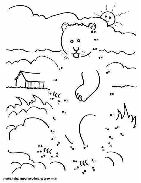 groundhog day coloring pages groundhog day coloring pages free printable az coloring