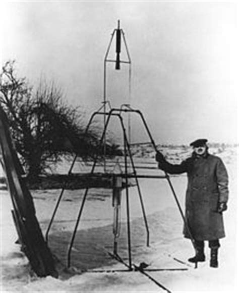 who invented the lava l robert goddard and the liquid fueled rocket