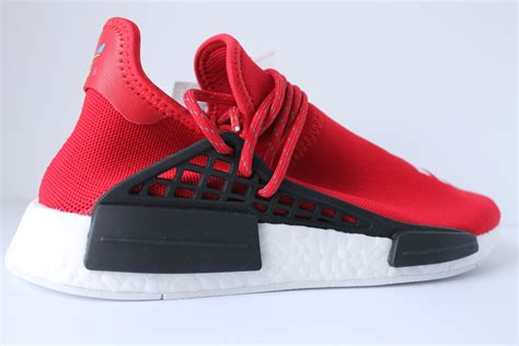 authentkicks adidas pw human race nmd red