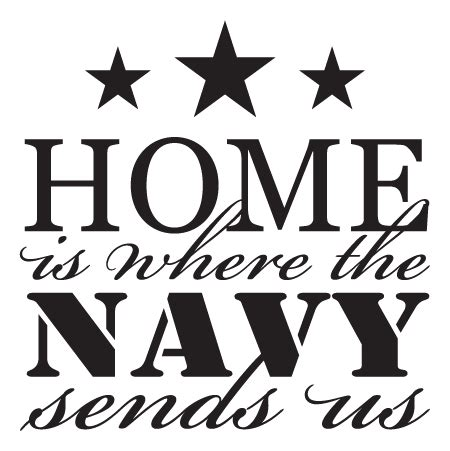 navy sends  wall quotes decal wallquotescom