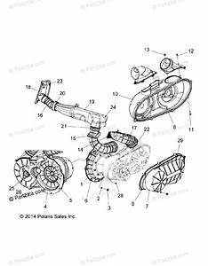 Polaris Side By Side 2015 Oem Parts Diagram For Body