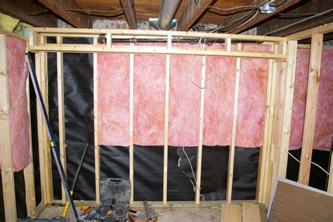 installing walls how to install kraft faced insulation tip and tricks