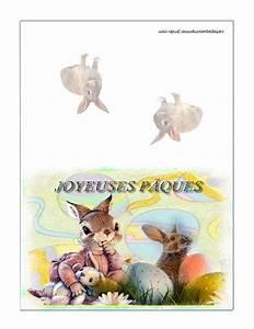Carte De Voeux à Imprimer Gratuite : carte de p ques imprimer gratuites carte p ques ~ Nature-et-papiers.com Idées de Décoration
