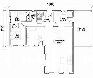 modele de plan maison plan maison 4 chambres plain pied With beautiful plan maison moderne 3d 5 plans de maison en 3d construire avec maisons den flandre