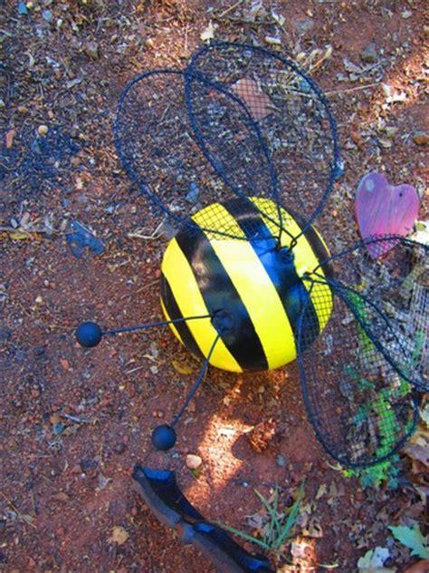 hometalk bowling balls  ladybugs