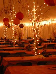 Wedding Tent decorations (like the lights on the poles ...