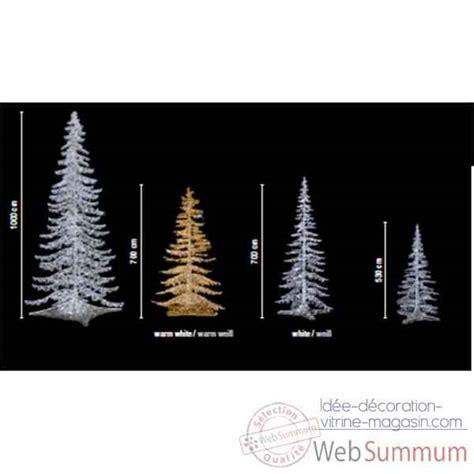 sapin de noel exterieur lumineux sapin de no 235 l g 233 ant professionnel lumineux led blanc de 5 30m 224 10m de automate