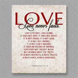 1 Corinthians 13 4 Love