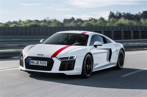 Rear-wheel Drive Audi R8 V10 Rws Special Edition Revealed