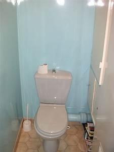deco toilettes sympa With idee deco peinture wc