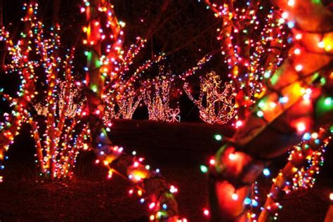 Magical Nights Of Lights by 10 Light Displays In Updated 2018