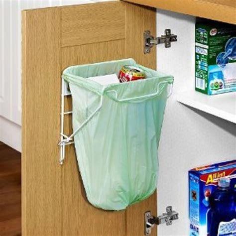Cupboard Bin by Metal Waste Rubbish Carrier Bag Holder Bin Strong