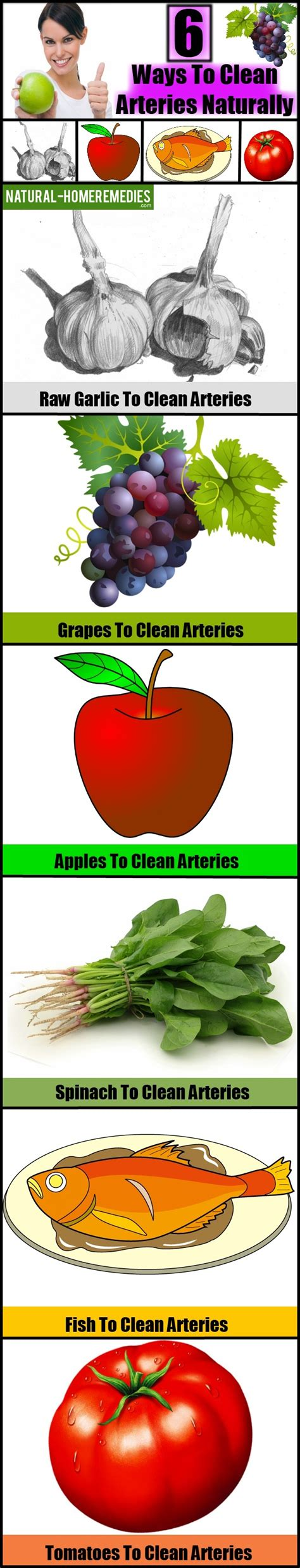 6 Ways To Clean Arteries Naturally  Natural Way To Unclog