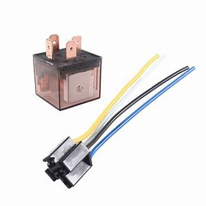 Car Truck Auto 12v 80a 80 Amp Spst Relay Relays 4 Pin 4p