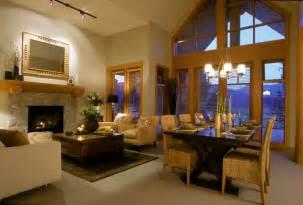 livingroom diningroom combo 57 great room designs ideas