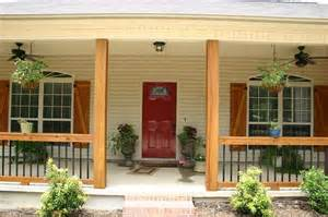 Before and After Front Porch Railing