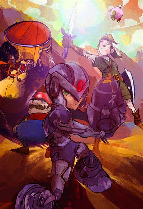 Nintendo Heroes By Dnz85 On Deviantart