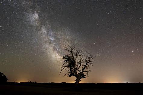 Wallpaper Landscape Night Galaxy Planet Nature Sky