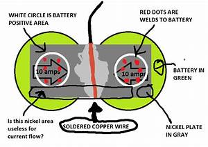How Current Flows Through Battery Nickel Plate