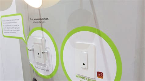 wemo 3 way light switch belkin s wireless wemo light switch can be controlled with