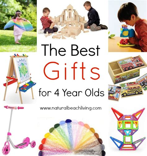 the best gifts for 4 year olds natural beach living