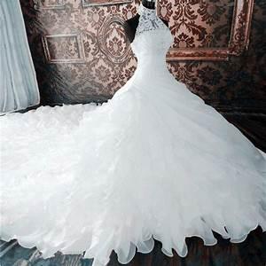 Aliexpresscom buy elegant pure white halter sexy for Aliexpress wedding dresses 2017
