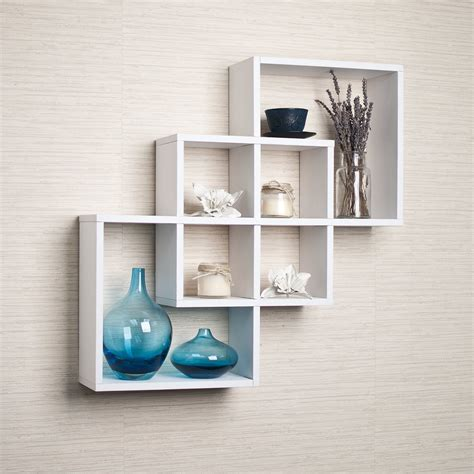 Buy White Shelves top 15 floating wooden square wall shelves to buy