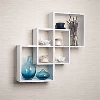 white floating shelf Top 20+ White Floating Shelves for Home Interiors