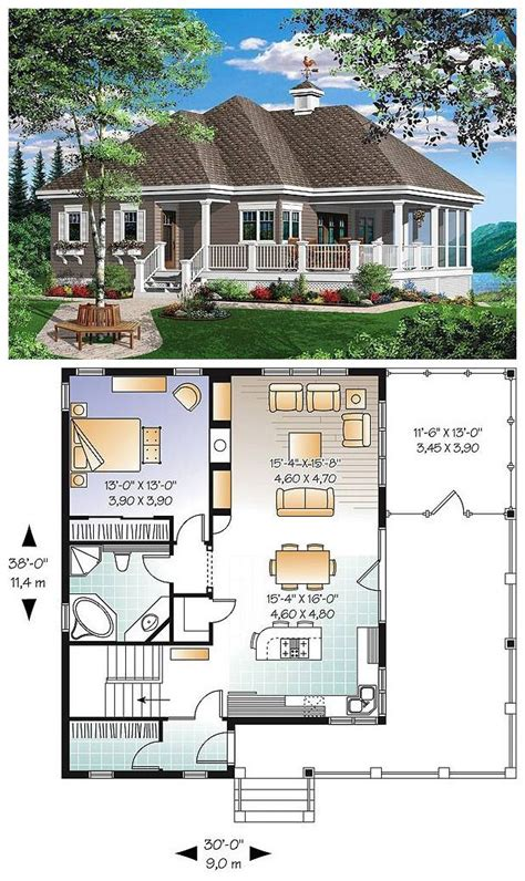 Beach Front Cottage Style House Plan 2022: The Gallagher