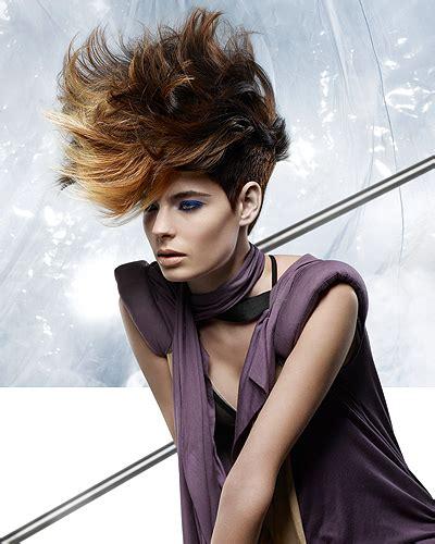 lange haare punk frisur schulterlange haare