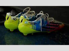 Lionel Messi's boots FC Barcelona UEFA Champions