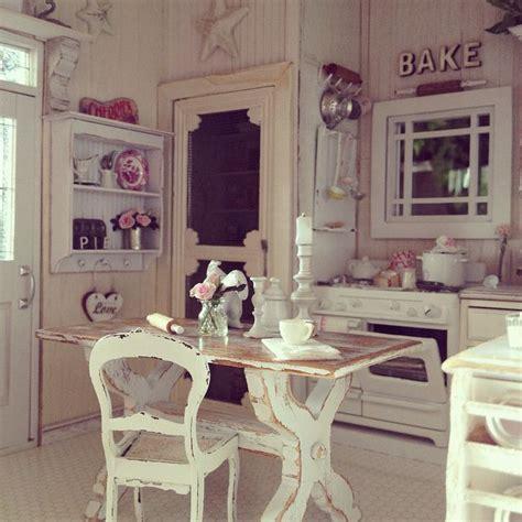 images  kitchen dollhouse miniatures  pinterest miniature cottages  shabby