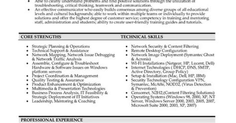 Network Analyst Resume Objective by Click Here To This Network Analyst Resume Template Http Www Resumetemplates101