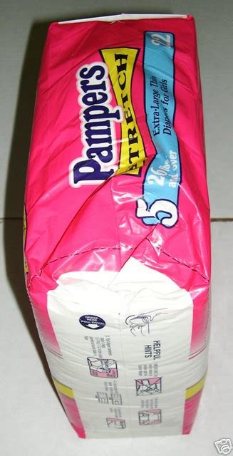 Pampers 1995 05 Pampers Stretch Size 5 For Girls