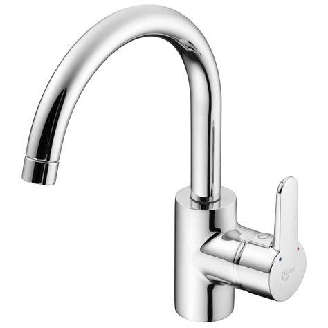 mixer kitchen ideal standard tap concept tubular spout taps sink lever single hole bathroom chrome supplies