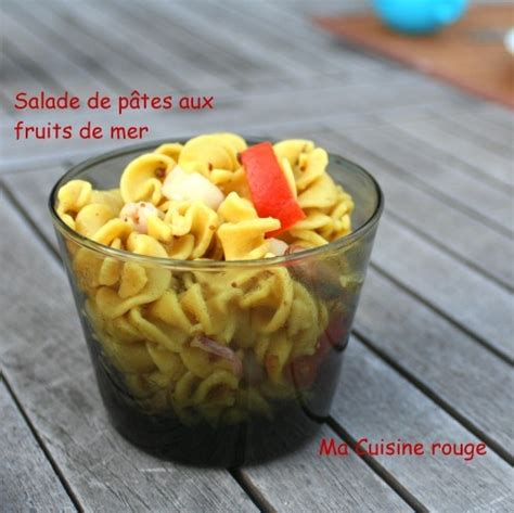 salade de p 226 tes aux fruits de mer ma cuisine