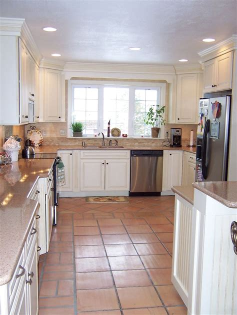 White Kitchen Saltillo Tile  Google Search  For The Home