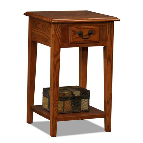 chair and end table amazon com leick chair side end table medium oak finish