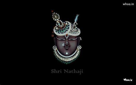 mukharvind shrinathji wirh dark background hd desktop