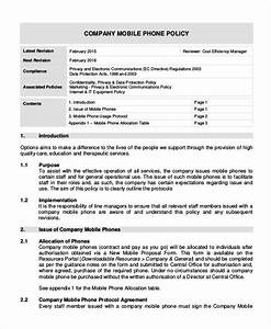 company issued cell phone policy template choice image With company issued cell phone policy template