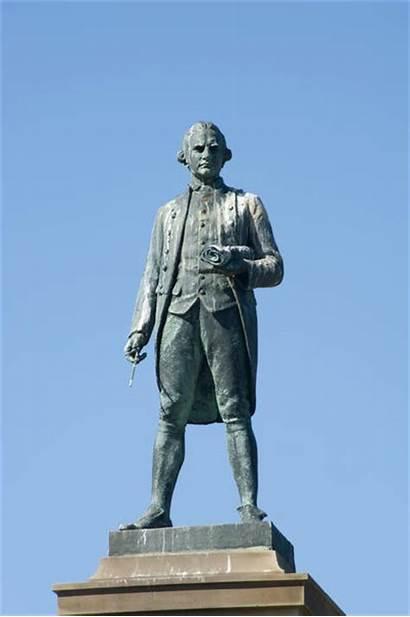 Captain Cook Statue Stockarch