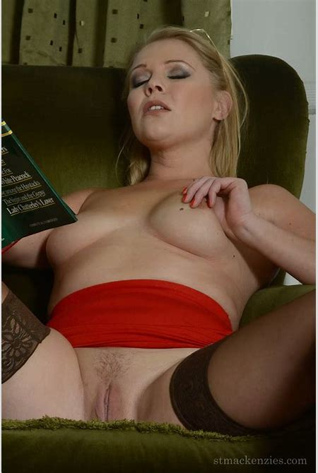 Unruly Schoolgirls, hot-teacher-lady-in-red-uniform_070 of St Mackenzies Institute of Learning